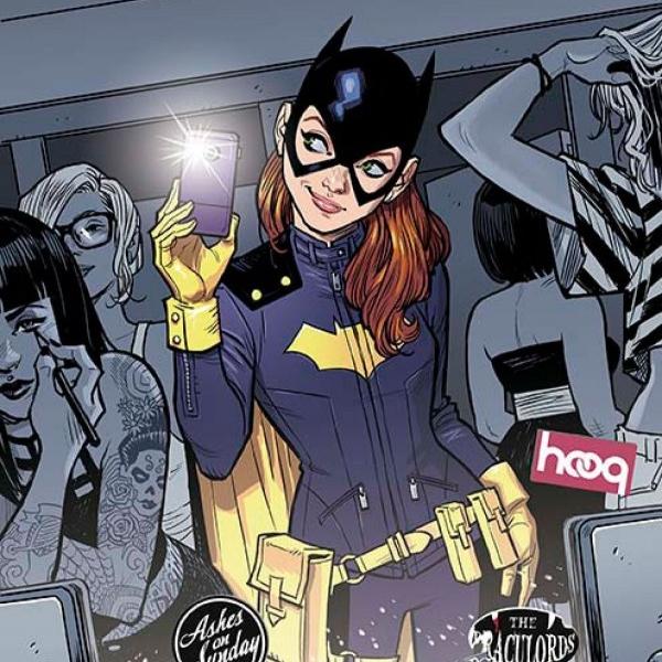 Batgirl Cover 3